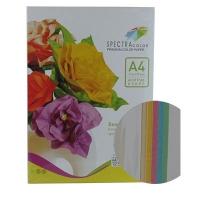 Бумага цветная А4 50л пастель 160 г/м2