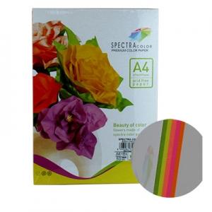 Бумага цветная А4 50л неон 155 г/м2