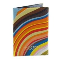 Обложка для паспорта Радуга микс 42-01-1375/00-А