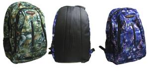 Рюкзак тканевый с абстракцией 18-96