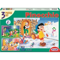 """Пазлы Frank 3 к. """"Пинокио"""" 33002 Соболев"""