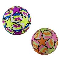 Мяч резиновый детский Звездочки в сетке 9-359 (25555)