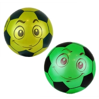 Мяч резиновый детский Футбол-рожица в сетке 9-360 (25555)