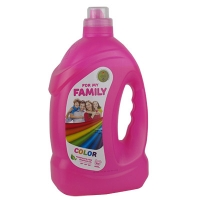 Гель для стирки Family  color 4 л 600193