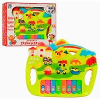 Пианино детское световые,звуковые  эффекты T195-D-1064