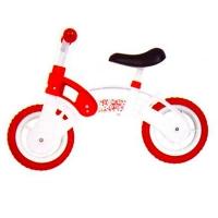 """Велобег бело-красный STAR BIKE колеса 10"""" EVA KW-11-012 БК"""