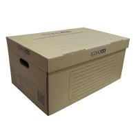 Контейнер архивный картоный бурый 100мм Economix 32703-07