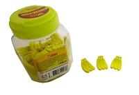 Ластик фигурный Банан TIKI в банке 48шт 50813-TK