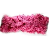 Новогодняя подвеска Ветка 2,7м розовая  5-161 (9151)