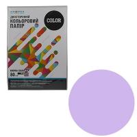 Бумага цветная А4 50л Knopka бледно-лиловый 80г/м2 LA12