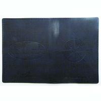 Обложка для паспорта кожа чистый Роза ветров компас Леся Куты