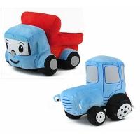 Мягкая игрушка трактор 00663