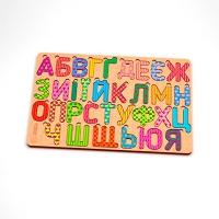 Пазлы деревянные Азбука укр 119321