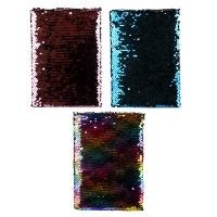 Блокнот А5 клетка паетки-перевертыши MIX 5-604 (21654)