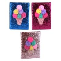 Блокнот А5 клетка Мороженое присыпка 5-623 (22050)