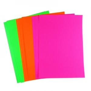 Бумага цветная А4 100л самоклейка микс цветов цена за уп 1-169-1-65 21699