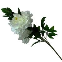 Цветы искусственные Пион 4 цветка на длинной ветке 1-179 (0082) 9-311(124)