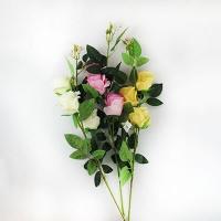 """Цветы искусственные """"Ветка розы"""" 1-184 (0082)"""