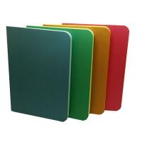 Блокнот А6 50л клееный цветной Metallic 80г/м2 ЗК-24
