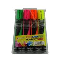 Набор текстовых маркеров 4 цвета DH-803 1-36 5-929 (21515)