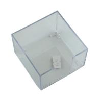 Бокс для бумаги прозрачный малый  1-63 (21473)