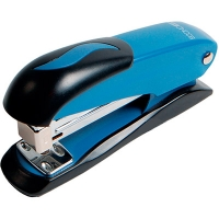 Степлер №24/6 20л Economix синий метал корпус E40238
