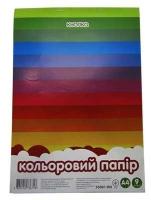 Бумага цветная А4 9л 55001-KN