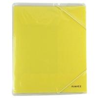 Папка на резинке А5 Axent Pastelini желтая 1514-26-A