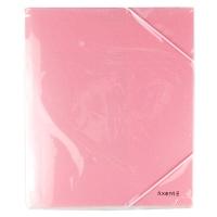 Папка на резинке А5 Axent Pastelini розовая 1514-10-A