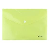 Папка на кнопке А5 Axent Pastelini желтая 1522-08-А