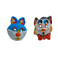 Карнавальная маска пластиковая 7-211 6-149 5-218 (2053)