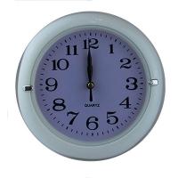 "Часы настенные малые пластик круглые ""18"" 52001"