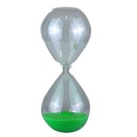 Часы песочные большие стекло круглые 54204