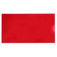Папка евроконверт Е65 гориз красная 31308-03