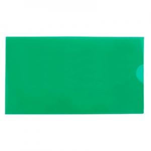 Папка евроконверт Е65 гориз зеленая 31308-04