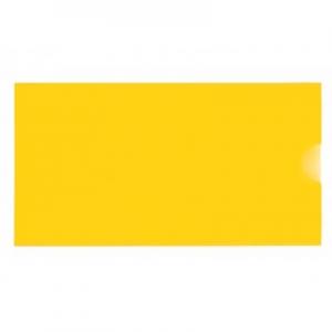 Папка евроконверт Е65 гориз желтая 31308-05