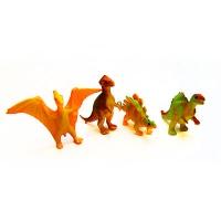 Игрушка резиновая Динозаврики маленькие 8-148 Е1-2489