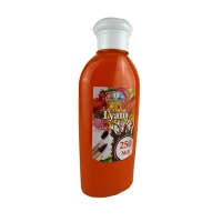 Гуашь оранжевая 250мл 341011
