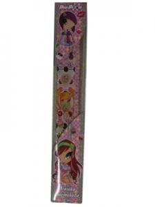 Линейка пластиковая 30см Pop Pixie Kite PP13-092K