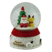Статуэтка керамическая шар движение под музыку d10см Pioner 92317-PN