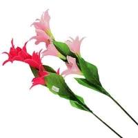 """Цветы искусственные """"Ветка лилии на длинной ножке""""10-697 (0082)"""