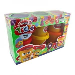 Тесто для лепки Master Do 6 цветов рус TMDB-01-01