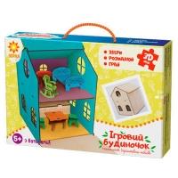 Пазлы 3D деревянные Домик игрушечный 90447   Зирка
