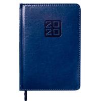 Ежедневник А5 датированный BRAVO Soft 336л синий золотой торец 2020г BM.2112-02