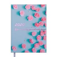 Ежедневник А5 датированный SPOLETO 336л мятный 2020г BM.2168-38
