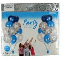 Воздушный шар фольга Party цена за упак (18 шт) 5-302 (1517)