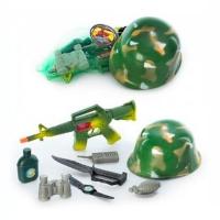 Набор Каска и оружие 8028