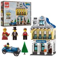 """Конструктор """"Brick"""" 1127 (16шт) """"Отель"""" 628 дет., 6+лет,  в разобр. кор.43*32*6,5 7 toys"""