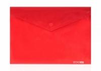 Папка на кнопке В5 конверт пластик микс Е31302-09