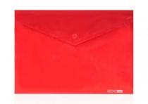 Папка на кнопке В5 конверт пластик микс Е31302